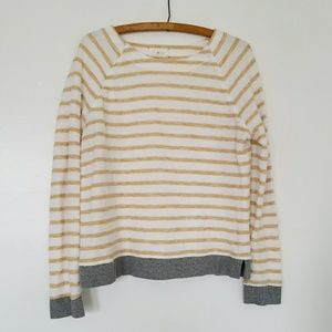 LOU & GREY striped French terry top